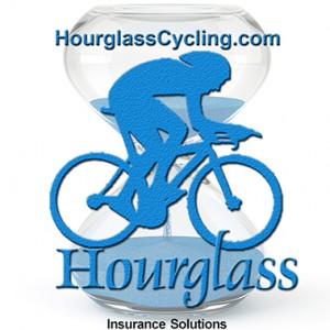Hourglass PC and PEO Pros have teamed up to sponsor an amateur cycling team